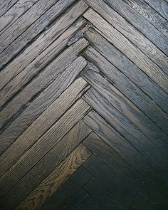 the wood floor of a home appliances store in downtown Trieste | Flickr - Photo Sharing!