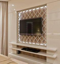 Tv Wall Panel, Wall Panel Design, Tv Wall Design, Wall Unit Designs, Living Room Tv Unit Designs, Studio Foto, Tv Unit Furniture Design, Modern Tv Wall Units, Plafond Design