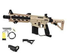 Marker Packages 47248: Tippmann Us Army Project Salvo Desert Tan Paintball Gun Adp Red Dot Cqb Stock -> BUY IT NOW ONLY: $179 on eBay!