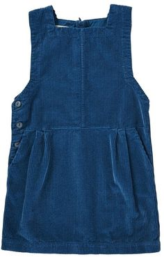 Beryl Velvet Pinafore Dress