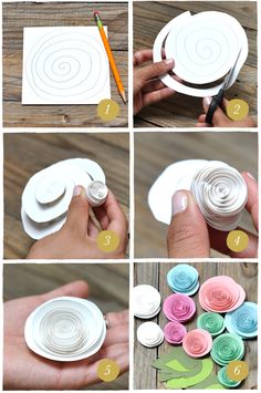 Smitten On Paper   Paper Roses DIY   Purveyors of invitations, cards & paper goods!