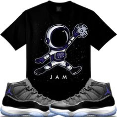 check out aec27 45104 Astronaut Air Jordan s XI SPACE JAME JUMPMAN!!yah!