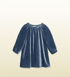 Gucci - baby viscose silk velvet dress