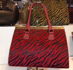 Ladies Faux Leather and Fur Tote Handbag borsa Beutel sac 37,78 € su www.bandana.it