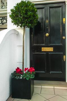 London Garden Designer: contemporary garden design, roof terrace design, stylish planters and window boxes solutions for your outdoor space. Front Door Planters, Metal Planters, Outdoor Planters, Outdoor Topiary, Topiary Trees, Topiaries, Window Box Flowers, Window Boxes, Roof Window