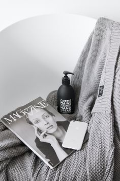 MA MAISON BLANCHE Compagnie de Provence Liquid Soap   By Nord Grey chunky knit   Apple iPhone 6