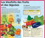 Les bienfaits des fruits et des légumes - Le Petit Quotidien, le seul site d'information quotidienne pour les 6 - 10 ans !