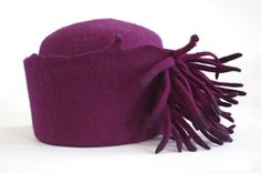 Fringed Hat by Lauri Chambers