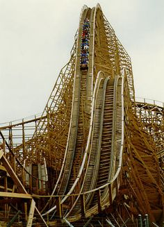 Mean Streak - Cedar Point in Sandusky, OH. Rode this roller coaster- just me & the hubs :)