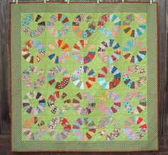 Ivan and Lucy: Work in Progress - Lifesaver Quilt!