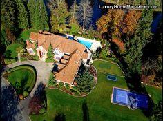 Luxury Home Magazine Seattle #Luxury #Homes #LakeOfTheWoods #Estates