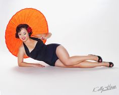 Asian Inspired Pin-Up |  Bay Area Pin-Up Photography