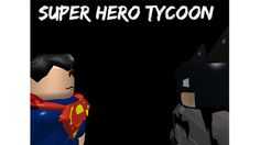 (Suicide Squad!) Super Hero Tycoon! - ROBLOX