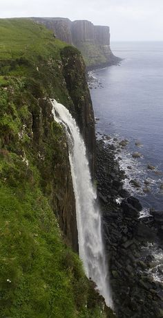 Highlands - Kilt Rock, Scotland