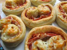 Palmeritas de pizza
