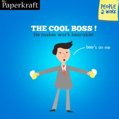 #Funny #Peopleatwork #Job The cool boss!