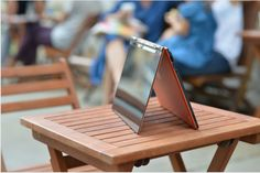 "People ask us, ""Is it a laptop or a tablet?"" Our answer: ""Yes"" - That's flexible Tech."