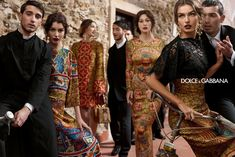 Dolce & Gabbana Fall Winter 2013.14 by Domenico Dolce