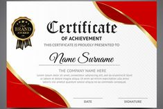 50 Multipurpose Certificate Templates And Award Designs For intended for Award Certificate Design Template - Best & Professional Templates Ideas Certificate Layout, Certificate Border, Certificate Background, Free Certificates, Certificate Design Template, Design Templates, Certificate Of Appreciation, Certificate Of Achievement, Templates Printable Free