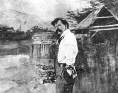 Uncle Will...William A. Sharp, California artist self portrait