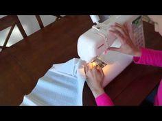 Videotutorial hvordan sy en sengeslange