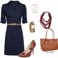"""wear to work"" by iugirl1999 on Polyvore"