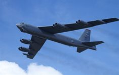Download wallpapers Boeing B-52 Stratofortress, American ultra-long bomber, US Air Force, military aircraft, US, strategic bomber