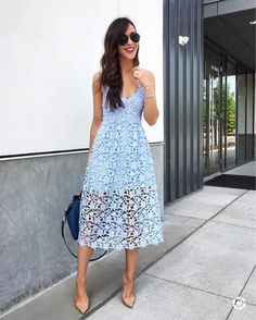 67 Breathtaking Summer Guest Wedding Outfit Ideas for Women High Neck Lace Dress, Lace Midi Dress, Tube Dress, Chic Dress, Club Dresses, Sexy Dresses, Dress Outfits, Fashion Dresses, Summer Dresses