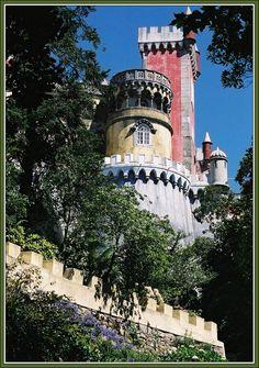 PENA PALACE — SINTRA -Portugal