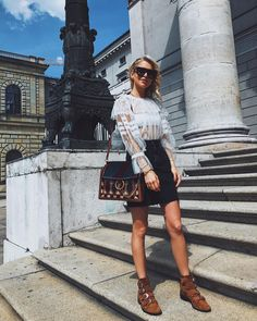 """14.8k Likes, 192 Comments - Caroline Daur (@carodaur) on Instagram: """"Hello my sunny Munich ☀️ hope to see you all later (18-20, Sendlinger strasse 29) Who is coming…"""""""