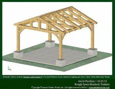 Flagstone Patio With Pergola patio deck ideas. Pavillion Backyard, Backyard Gazebo, Backyard Patio Designs, Pergola Patio, Pergola Kits, Pergola Ideas, Flagstone Patio, Carport Plans, Gazebo Plans