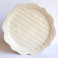 F198139 - Salad/ Dessert Plate: Chinese scallop