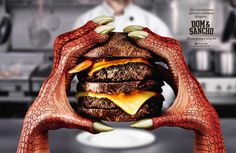 Dom & Sancho: Dragon - Get adventurous with our delicious burgers. Dom & Sancho Hamburgeria A piece of story in every bite.