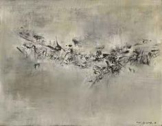 ZAO WOU-KI (ZHAO WUJI, French/Chinese, 1920-2013) 14.08.59 signed in Chinese; signed 'ZAO' (lower right); signed 'ZAO WOU-KI'; dated '14.8.1959' (on the reverse) oil on canvas 113 x 144.8 cm. (44 7/16 x 57 in.) Painted in 1959