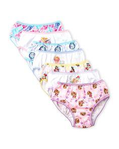 Paw Patrol (Girls 4-6x) 7-Pack Panties