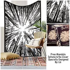 """Exclusive Psychedelic Forest Tapestry By """"The Boho Street... https://www.amazon.com/dp/B01B60FZNO/ref=cm_sw_r_pi_dp_RqdCxbTQ9KX9M"""