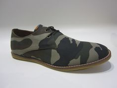 Camo Derby Shoes