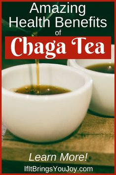 Reap the health benefits of Chaga tea! Learn what Chaga is, why you should drink it, and how to prepare it. #healthyliving #chaga