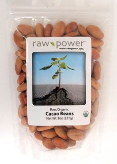 Cacao Beans: Rawpower.com's Cacao Beans are Verified Raw (Processed Under 120°F) Certified Organic Cacao (Chocolate) Beans