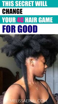 4C hair growth problem? No worries we have the hair growth secret that will chance your 4c hair game for good. Even if you have given up on your 4C hair, there is still hope and you can manage it so that way you add moisture back to it and grow it up to 2 inches per month.