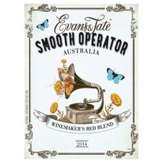 Evans & Tate Smooth Operator Red Blend 2014 from Australia - Evans & Tate Smooth Operator Winemaker's Blend is an intriguing and silky smooth wine, sourced from distinctive Australian wine regions. Blueberry Fruit, Macaroni Cheese, Wines, Evans, Smooth, Drink, Red, Drinking, Beverage