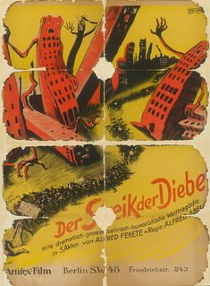 Movie Poster of the Week: Film Posters from a German Salt Mine on Notebook | MUBI Berlin, Classic Films, Film Posters, Ephemera, Salt, Notebook, Vintage, Salts, Movie Posters