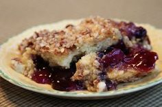 Pineapple Blueberry Crumble and the Joys of Small Town Life
