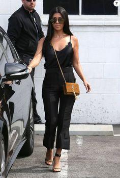 Kourtney Kardashian sort d'un studio d' enregistrement à Van Nuys Le 10 juin 2016