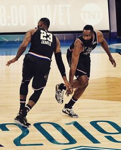 Who's going to watch these two face off tomorrow night! Mvp Basketball, Basketball Workouts, Basketball Leagues, Love And Basketball, Nba Pictures, Basketball Pictures, Lakers Vs Rockets, Mike Jordan, King Lebron James