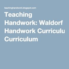 Handwork curriculum The first grader will work on training their fingertips and fine motor skills. A simple tool used for supporting prop. Waldorf Preschool, Waldorf Curriculum, Waldorf Education, Steiner Waldorf, Art Therapy, Fine Motor Skills, Philosophy, Teaching, Dns
