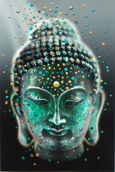 Image of Buddha Deep Serenity Giclee Print - Release your fears and worries