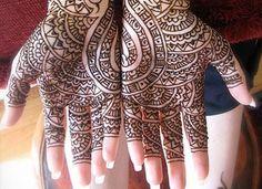 mehndi indian pattern