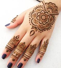 Beautiful Henna Tattoo Designs For Back Hand 1