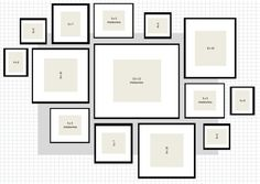 What Is Standard Picture Frame Moulding Sizes For Wainscoting What Are The Standard Photo Frame Sizes Ikea Ribba Gallery Wall Layout 2 Excel What Are The Standard Picture Frame Sizes Picture Frames What Are The Standard Picture Frame Sizes Gallery Wall Layout, Gallery Wall Frames, Gallery Walls, Photo Wall Layout, Ikea Gallery Wall, Picture Frame Layout, Wall Frame Layout, Picture Placement On Wall, Wall Of Frames
